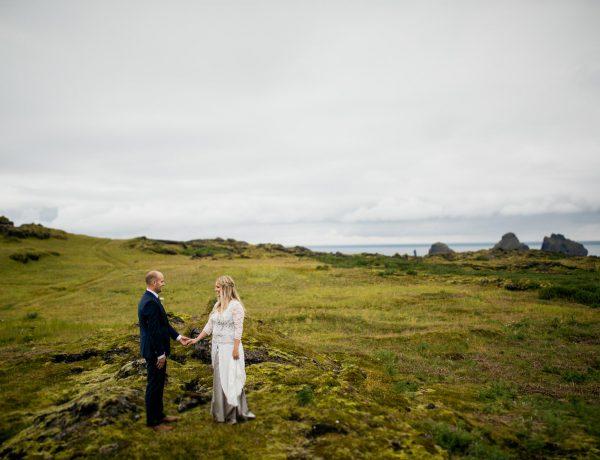 Ein Höhepunkt des letzten Jahres. Halla & Kalli geben sich auf Island das Ja-Wort