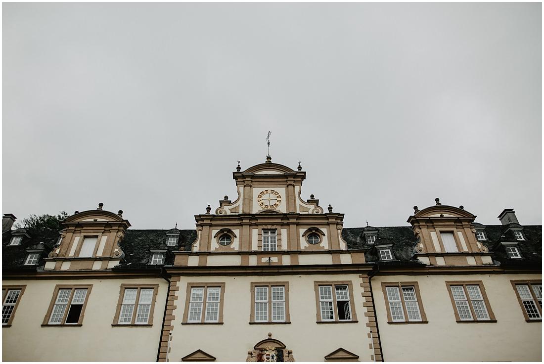 Schloss Ehreshoven mit Blick nach Oben