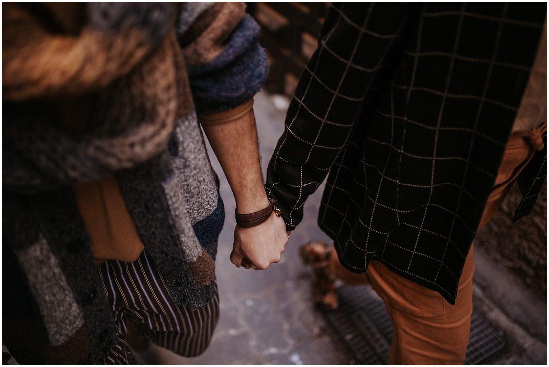 Händchenhalten in Marrakesch - Elopement Marrakesch