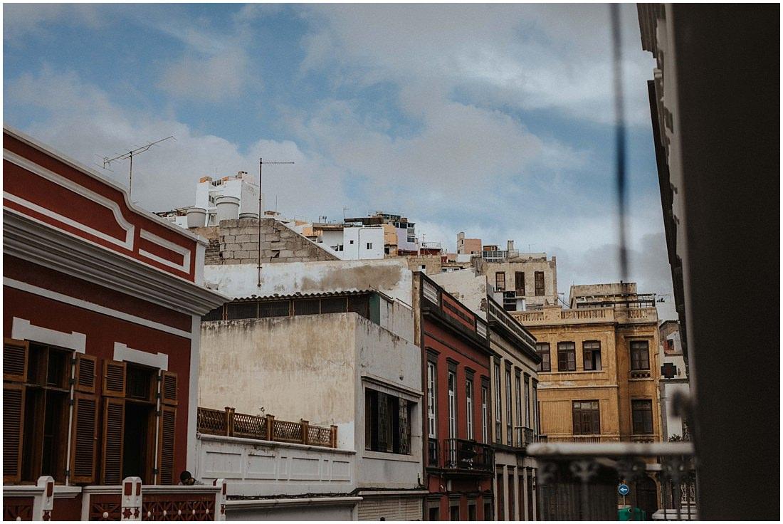 Die Sicht aus dem Hotelzimmer auf Gran Canaria